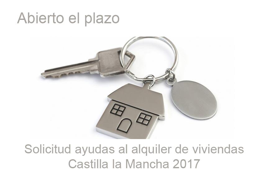 Ayudas al alquiler de viviendas en CLM 2017